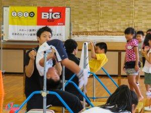 鉄棒チャレンジ教室